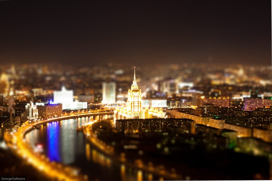 tiltshift moscow