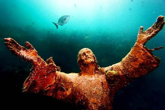 Christ of the Deep Key Largo